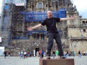 John Meyer in Santiago de Compostela